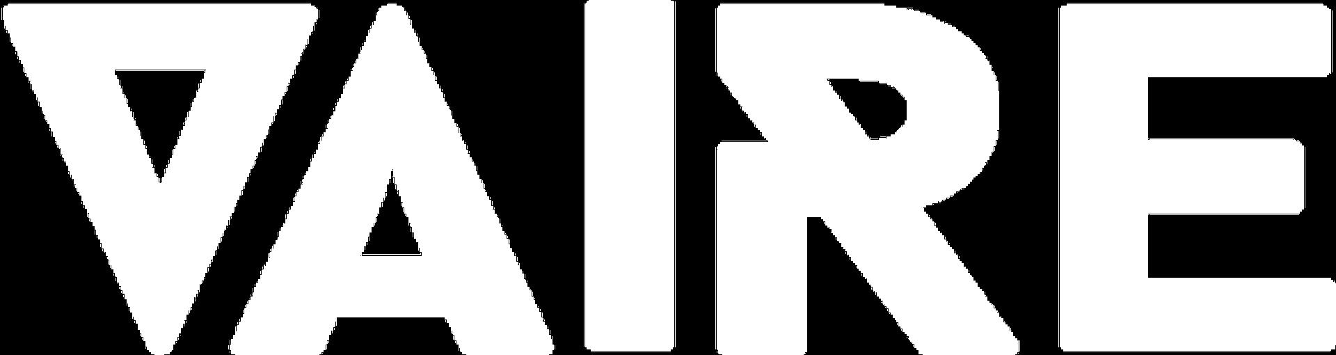 Vaire logo blanc